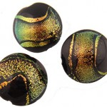 Murano Glass Beads Dichroic