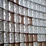 Curved Glass Brick Wall